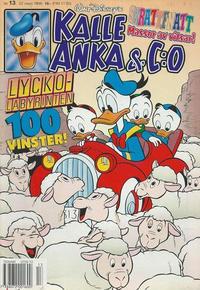Cover Thumbnail for Kalle Anka & C:o (Serieförlaget [1980-talet], 1992 series) #13/1996