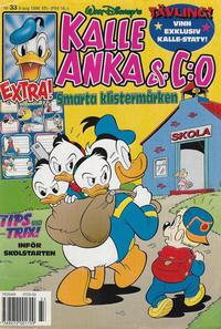 Cover Thumbnail for Kalle Anka & C:o (Serieförlaget [1980-talet], 1992 series) #33/1996