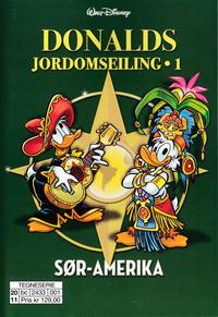 Cover Thumbnail for Donalds jordomseiling (Hjemmet / Egmont, 2020 series) #1 - Sør-Amerika