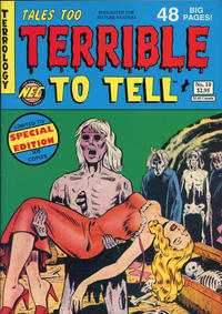 Cover Thumbnail for Tales Too Terrible to Tell (New England Comics, 1989 series) #10