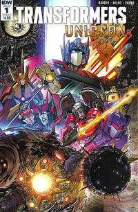 Cover Thumbnail for Transformers: Unicron (IDW, 2018 series) #1