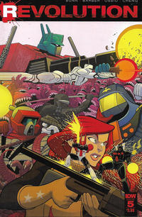 Cover Thumbnail for Revolution (IDW, 2016 series) #5 [Regular Cover]