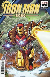 Cover Thumbnail for Iron Man 2020 (Marvel, 2020 series) #1 [Ron Lim]