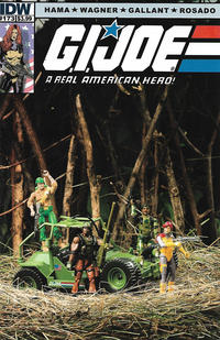 Cover Thumbnail for G.I. Joe: A Real American Hero (IDW, 2010 series) #173 [Cover B]