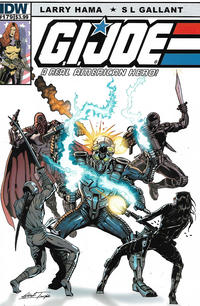 Cover Thumbnail for G.I. Joe: A Real American Hero (IDW, 2010 series) #179 [Cover B]