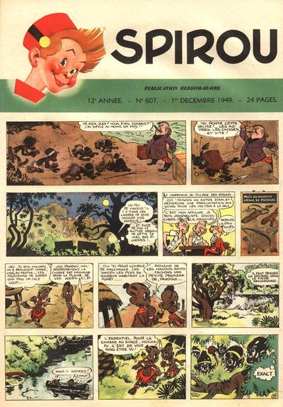 Cover for Spirou (Dupuis, 1947 series) #607