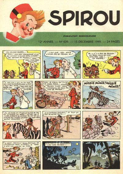 Cover for Spirou (Dupuis, 1947 series) #609