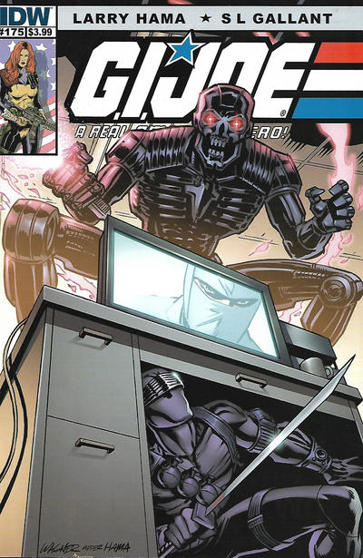 Cover for G.I. Joe: A Real American Hero (IDW, 2010 series) #175 [Cover B]