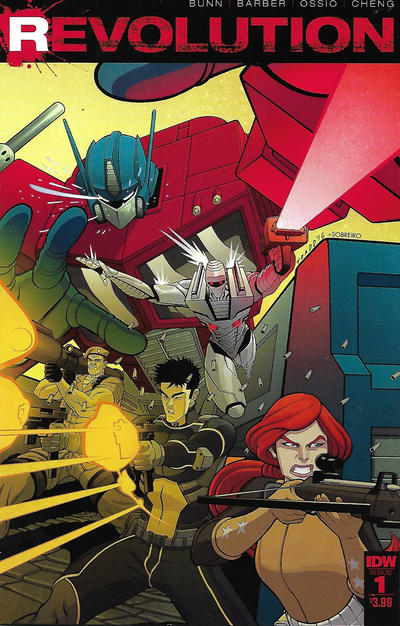 Cover for Revolution (IDW, 2016 series) #1 [Subscription Cover E - Blank Sketch Cover]