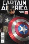 Cover for Captain America (Marvel, 2011 series) #1 [Captain America Movie Newsstand Variant]