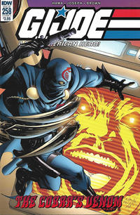 Cover Thumbnail for G.I. Joe: A Real American Hero (IDW, 2010 series) #258 [Cover A - Ron Joseph]