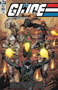Cover Thumbnail for G.I. Joe: A Real American Hero (IDW, 2010 series) #263 [Cover A - S. L. Gallant]