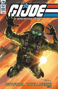 Cover Thumbnail for G.I. Joe: A Real American Hero (IDW, 2010 series) #262 [Cover A - Netho Diaz]