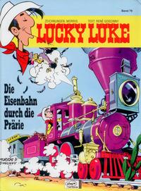 Cover Thumbnail for Lucky Luke (Egmont Ehapa, 1977 series) #79 - Die Eisenbahn durch die Prärie