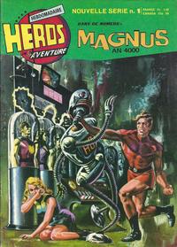 Cover Thumbnail for Héros de l'aventure (Éditions des Remparts, 1972 series) #1