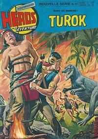 Cover Thumbnail for Héros de l'aventure (Éditions des Remparts, 1972 series) #12