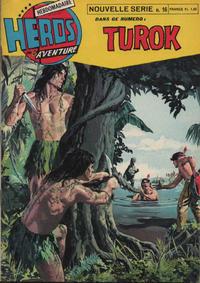 Cover Thumbnail for Héros de l'aventure (Éditions des Remparts, 1972 series) #16