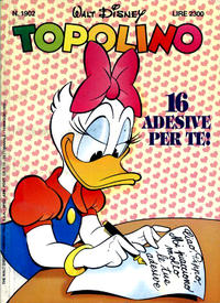 Cover Thumbnail for Topolino (Disney Italia, 1988 series) #1902