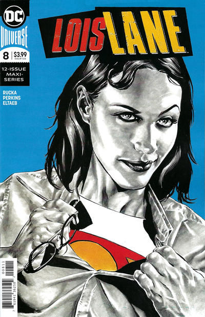 Cover for Lois Lane (DC, 2019 series) #8 [Kamome Shirahama Cover]