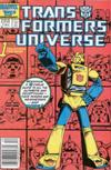 Cover for The Transformers Universe (Marvel, 1986 series) #1 [Newsstand Edition]