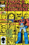 Cover for The Transformers Universe (Marvel, 1986 series) #2 [Direct Edition]