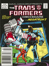 Cover for The Transformers Comics Magazine (Marvel, 1987 series) #4