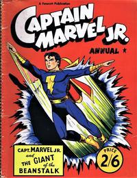 Cover Thumbnail for Captain Marvel Jr Annual (L. Miller & Son, 1953 series) #1954