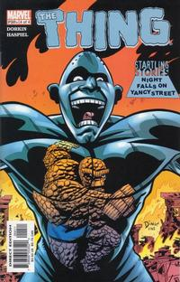 Cover Thumbnail for Startling Stories: The Thing - Night Falls on Yancy Street (Marvel, 2003 series) #4