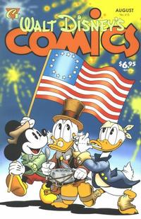 Cover Thumbnail for Walt Disney's Comics and Stories (Gladstone, 1993 series) #615