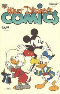 Cover Thumbnail for Walt Disney's Comics and Stories (Gladstone, 1993 series) #621