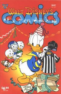 Cover Thumbnail for Walt Disney's Comics and Stories (Gladstone, 1993 series) #624