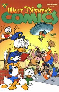 Cover Thumbnail for Walt Disney's Comics and Stories (Gladstone, 1993 series) #628