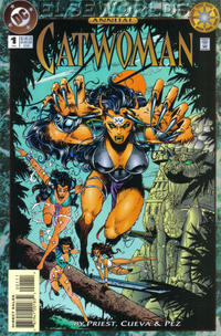 Cover Thumbnail for Catwoman Annual (DC, 1994 series) #1 [Direct Sales]