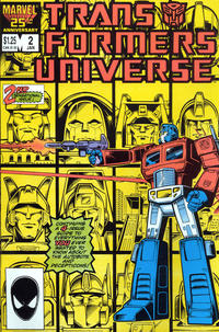 Cover Thumbnail for The Transformers Universe (Marvel, 1986 series) #2 [Direct Edition]