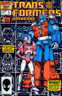 Cover Thumbnail for The Transformers Universe (Marvel, 1986 series) #4 [Direct Edition]