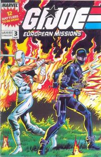 Cover Thumbnail for G.I. Joe European Missions (Marvel, 1988 series) #3