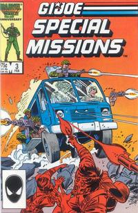 Cover Thumbnail for G.I. Joe Special Missions (Marvel, 1986 series) #3 [Direct Edition]