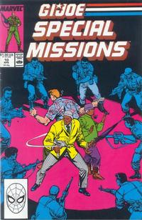 Cover Thumbnail for G.I. Joe Special Missions (Marvel, 1986 series) #10 [Direct Edition]