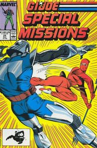 Cover Thumbnail for G.I. Joe Special Missions (Marvel, 1986 series) #24 [Direct Edition]