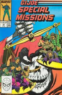 Cover Thumbnail for G.I. Joe Special Missions (Marvel, 1986 series) #26 [Direct Edition]