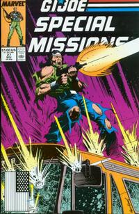 Cover Thumbnail for G.I. Joe Special Missions (Marvel, 1986 series) #27 [Direct Edition]