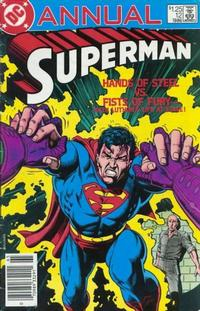 Cover Thumbnail for Superman Annual (DC, 1960 series) #12 [Newsstand]