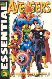 Cover Thumbnail for Essential Avengers (Marvel, 1999 series) #3