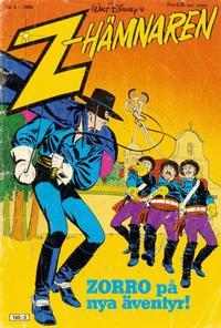 Cover Thumbnail for Z-Hämnaren [Zorro] (Hemmets Journal, 1980 series) #3/1980