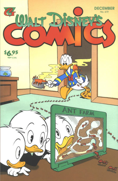 Cover for Walt Disney's Comics and Stories (Gladstone, 1993 series) #619