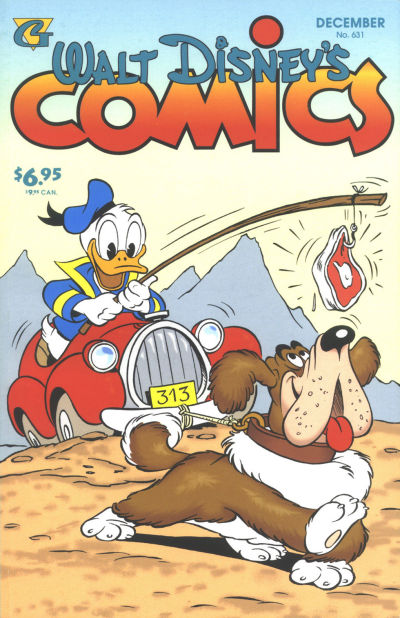 Cover for Walt Disney's Comics and Stories (Gladstone, 1993 series) #631