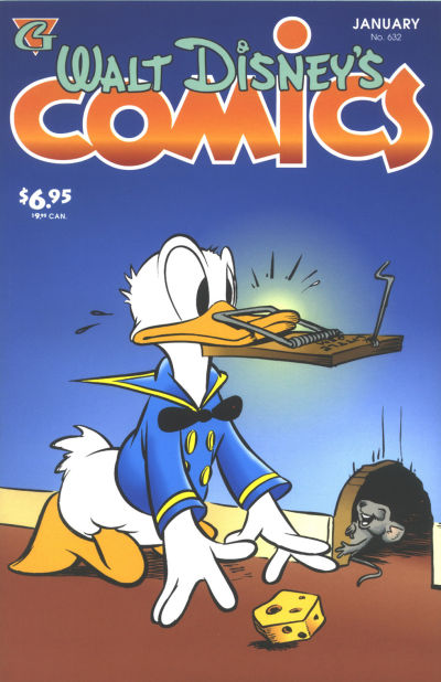 Cover for Walt Disney's Comics and Stories (Gladstone, 1993 series) #632
