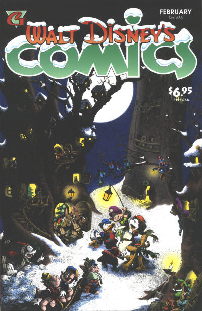 Cover for Walt Disney's Comics and Stories (Gladstone, 1993 series) #633