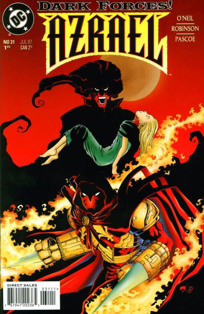 Cover for Azrael (DC, 1995 series) #31