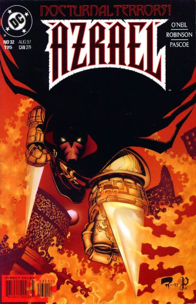 Cover for Azrael (DC, 1995 series) #32